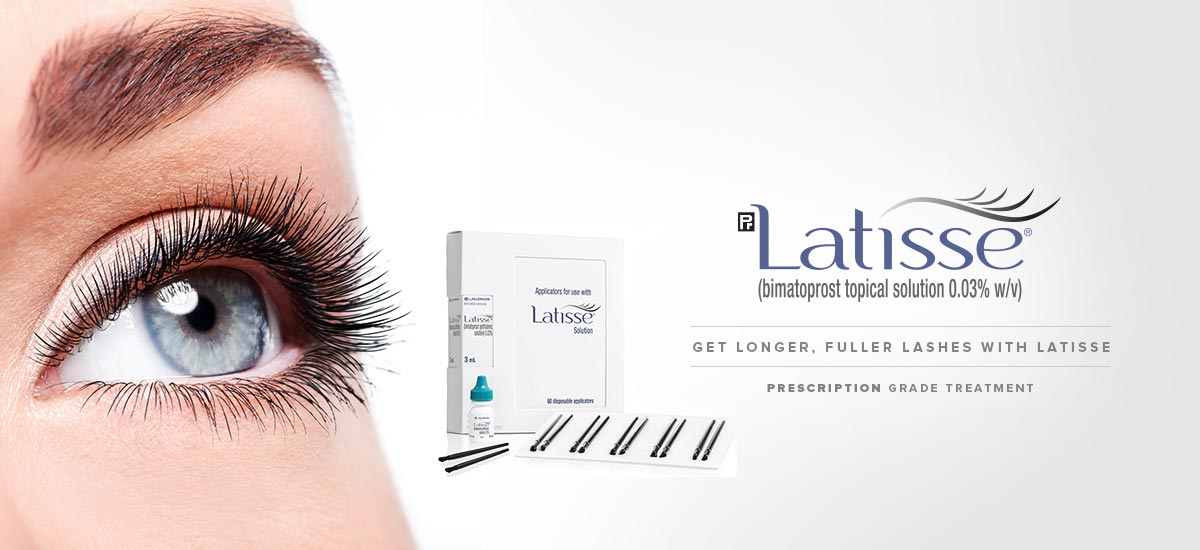 Latisse Product with Eye Image